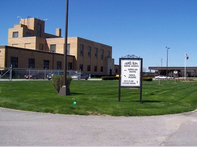 Council Bluffs Water Works plant today