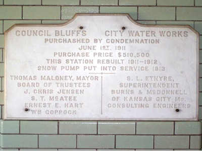 1911 Purchase Plaque